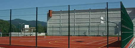ограда за спортна площадка